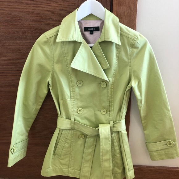 🌷 Jacob Jr trench coat double breasted
